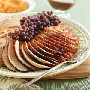 Spiced Turkey Breast with Madeira Gravy